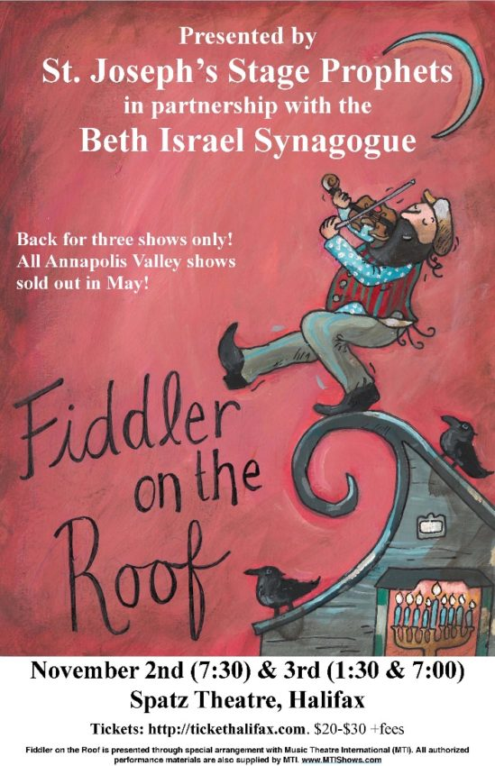 Fiddler on the Roof @ Spatz Theatre