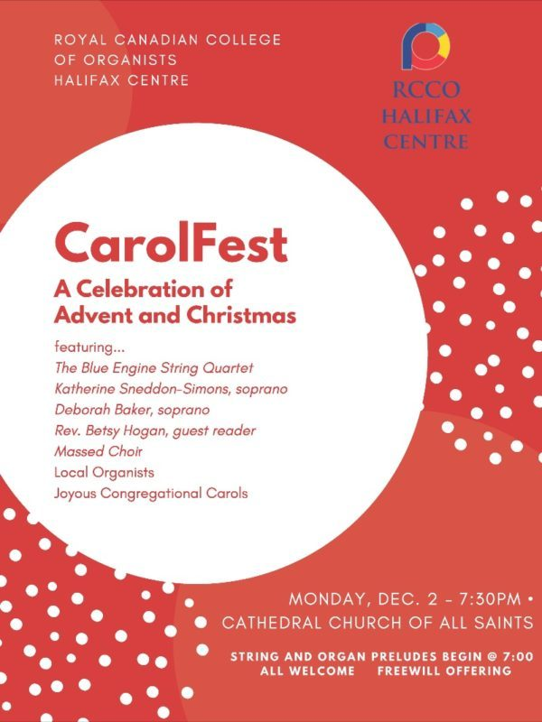 CarolFest @ Cathedral Church of All Saints