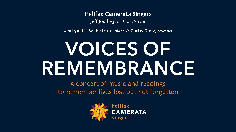 Halifax Camerata Singers Present: Voices of Remembrance @ Online (youtube)